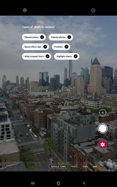 Samsung Galaxy Tab S7 Video Filters screenshot