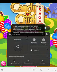 Samsung Galaxy Z Fold2 5G Game Booster screenshot