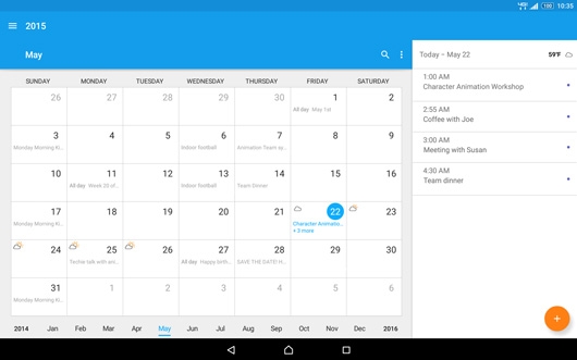 Look and Feel - Daily Tools: Calendar