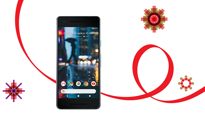 your new holiday pixel 2