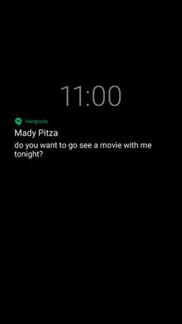Google Pixel XL Always on Display screenshot