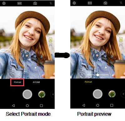 LG V30 Portrait Mode screenshot