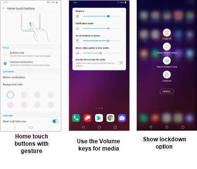 LG V40 ThinQ Android Pie Update screenshot