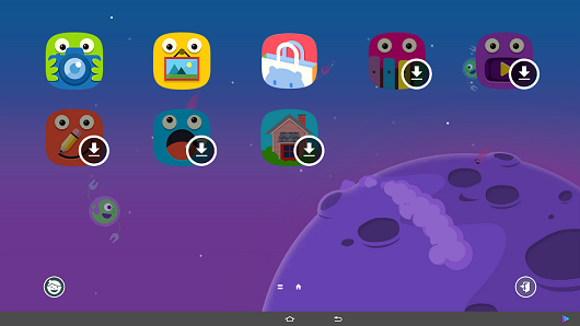 Samsung Galaxy View Kids Mode screenshot