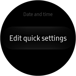 Samsung Gear S2 Classic and Gear S2 Sport Edit Quick Settings