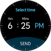 Samsung Gear S2 Enhanced Smart Replies screenshot