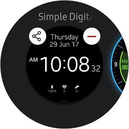 Samsung Gear S3 classic Watch Faces screenshot