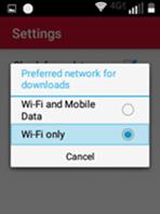 Sonim XP5 Wi-Fi Software Update Steps