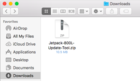 Verizon Ellipsis Jetpack MHS800L Mac Update Tool Downloaded Zip File