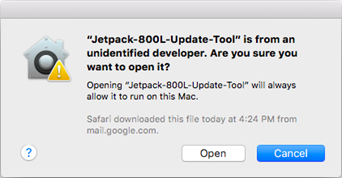 Verizon Ellipsis Jetpack MHS800L Mac Update Tool Instructions, Step 3