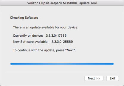 Verizon Ellipsis Jetpack MHS800L Mac Update Tool Instructions, Step 5