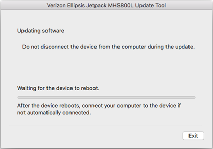Verizon Ellipsis Jetpack MHS800L Mac Update Tool Instructions, Step 7