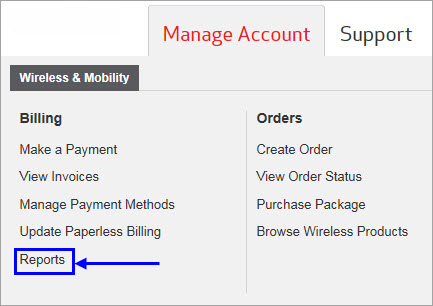 How To Use Guide Advanced Reporting - Free program to create invoices verizon online store