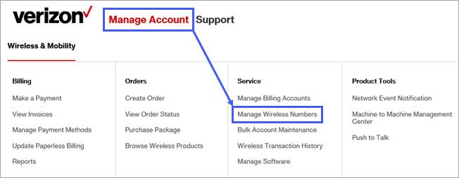 Suspend or Resume Service
