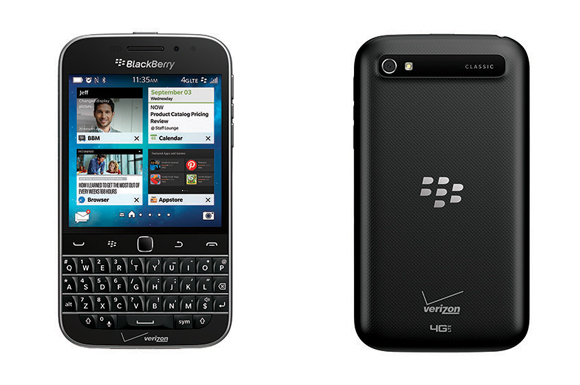BlackBerry Classic Available Feb. 26 on the Verizon Wireless Network
