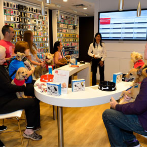 Verizon's Latest In-store Tech Workshop for Customers has Tails Wagging