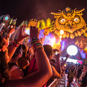 Music Fans Hit High Note of Data Usage at Las Vegas' Electric Daisy Carnival