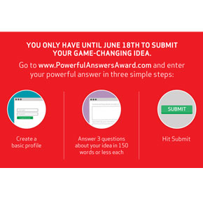 Verizon Ignites Innovation with Kickoff of 2015 Powerful Answers Award