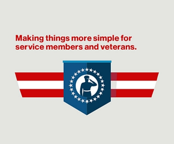 Supporting active military and veterans with easy-to-understand discounts