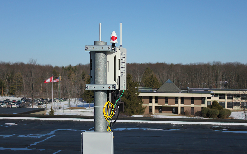 New Small Cell Technology Deployed at Corning Community College