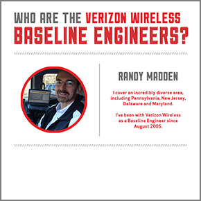 Meet Randy Madden: Verizon Wireless Road Warrior