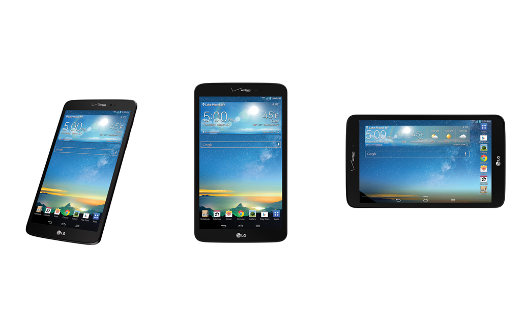 LG G Pad 8.3 LTE Available March 6 Exclusively With Verizon Wireless