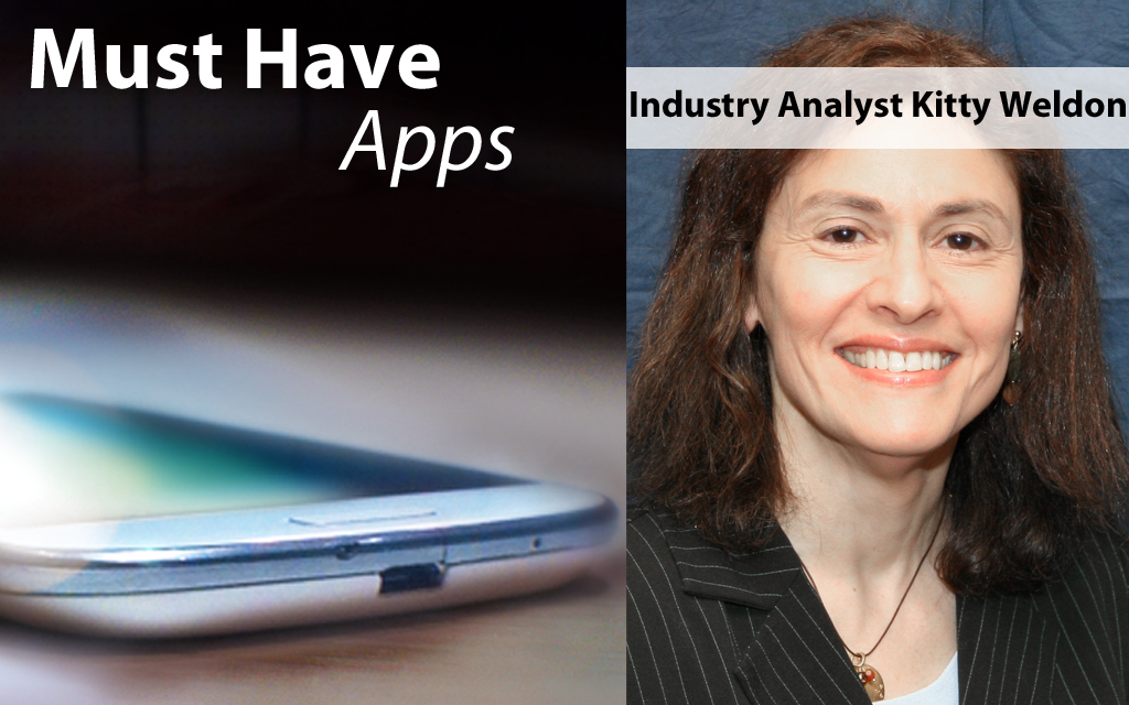 Industry Analyst, Business Traveler Kitty Weldon's Must-have Apps