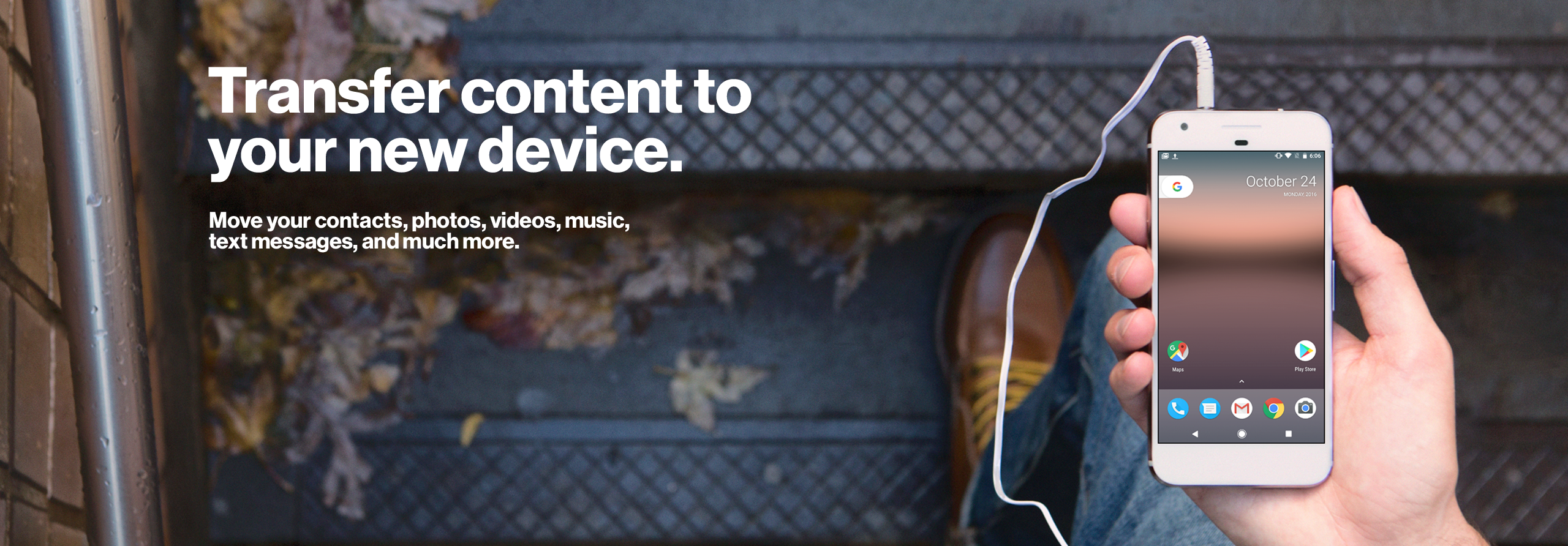 Transfer Contacts Other Content Between Devices | Verizon ...