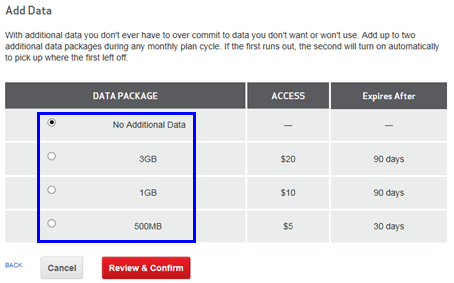 Or, you can set up a recurring Monthly Data Pass, with data buckets between 2 GB and 22 GB. For more information, read about T-Mobile's Prepaid Mobile Internet plans. Domestic roaming and international roaming (except for Canada and Mexico) are not available with Prepaid Mobile Internet data passes.