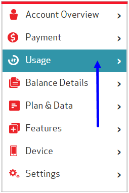 how to find your data usage my optus account
