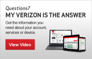 Questions? My Verizon is the answer
