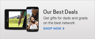 Get your Dad or Grad the best smartphone or tablet on the best network. Check out our Father's Day deals.