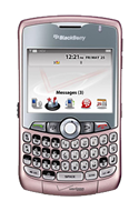 BlackBerry® Curve™ 8330 smartphone in Pink
