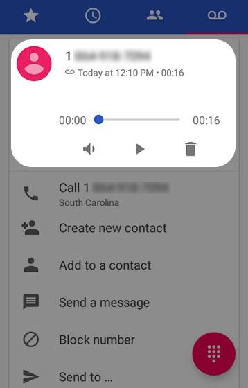 verizon wireless visual voicemail