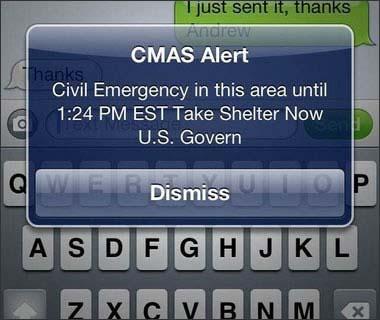 Alerta de CMAS