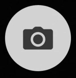 Icono del disparador de la cámara