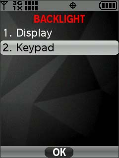 Select Keypad