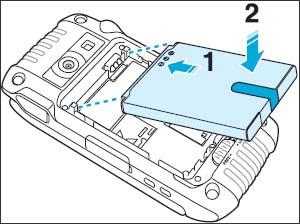 Colocar la batería