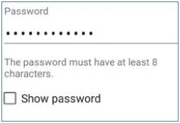 Change password prompt