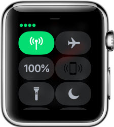 Watch control center