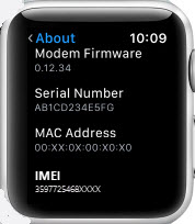 track apple watch using serial number