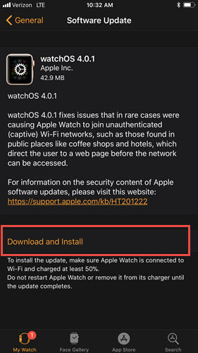Download watch software