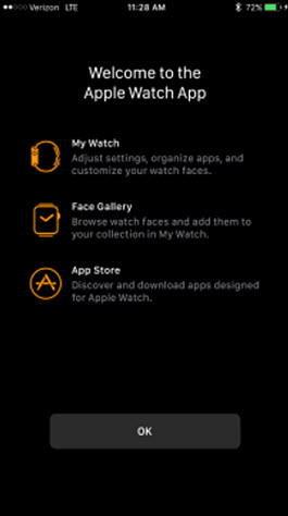 Open Watch app