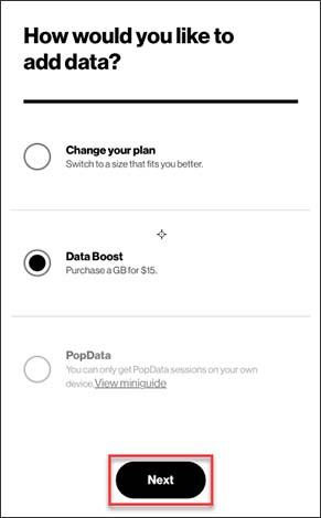 Add more data options