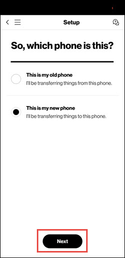Choose new phone