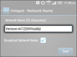 Remove the old Network Name