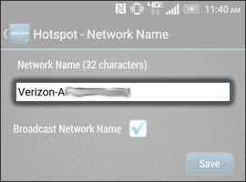 Elimina el nombre de red anterior