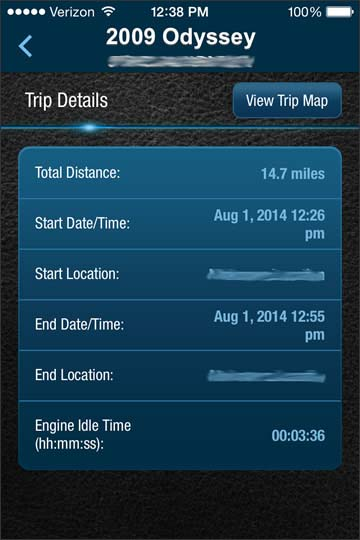 Ver detalles del viaje