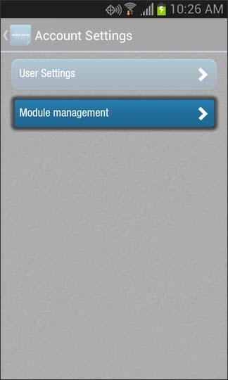 Oprime Module management