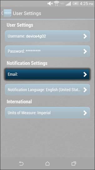 Oprime Enter Email Address